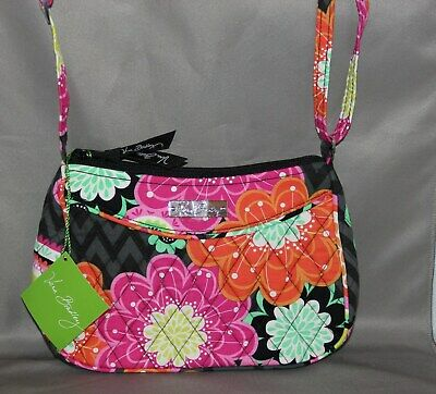 21dec7fa4248 VERA BRADLEY LITTLE Crossbody Bag in Painted Feathers NWT -  18.99 ...