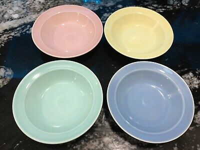LuRay Pastels - Four Berry Bowls/Fruit Dishes