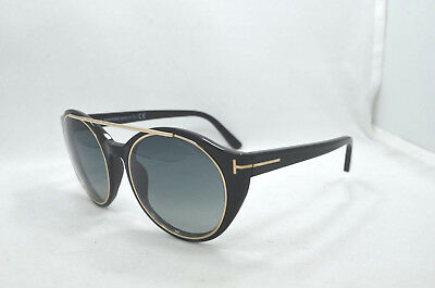 ceef94105f9 NEW TOM FORD Tf 199 01A Carter Black Authentic Sunglasses 48-20 ...