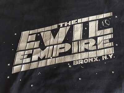 NEW YORK YANKEES EVIL EMPIRE Bronx NY T-Shirt Boston Red Sox Rivalry ... e679592e996