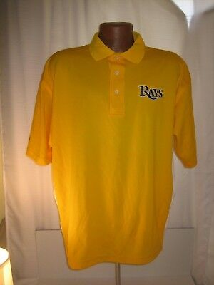 RARE Tampa Bay Rays Medical staff baseball golf shirt adult size XL stitched mlb