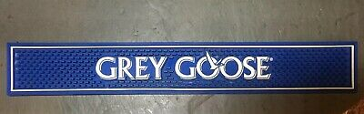 Grey Goose Vodka Logo Blue & White Print Rubber Bar Mat Spill Mat Man Cave Decor