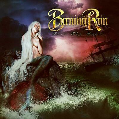 Burning Rain Face The Music CD ROCK FRONTIERS RECOR 2019 NEW FREE SHIPPING