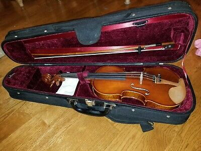 Samuel Eastman 1/2 MODEL VL200 Andreas Series Violin Outfit INCLUDES BOW & CASE