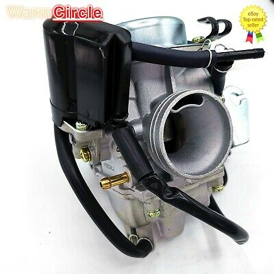 Atv,rv,boat & Other Vehicle Careful Gy6 125cc 150cc Pd24j Carburetor Carb With Drian Tube Hammerhead Sunl Roketa Kazuma Taotao Atv Go Kart Scooter Parts Pure White And Translucent