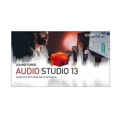 MAGIX - Sound Forge Audio Studio 13  [Authorized Dealer]