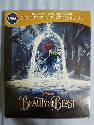 Beauty and the Beast (Blu-ray/DVD, Includes Digital Copy Best Buy) Steelbook