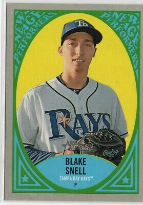 2019 Topps Heritage New Age Performers #NAP1 Blake Snell