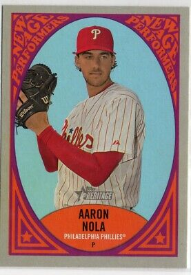 2019 Topps Heritage New Age Performers #NAP20 Aaron Nola
