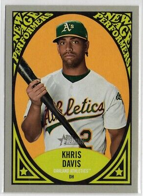 2019 Topps Heritage New Age Performers #NAP10 Khris Davis