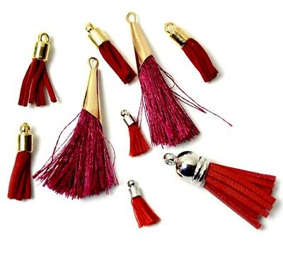 Jesse James Beads White Label Exclusives PURPLE RAIN Tassels  Shelly/'s Buttons