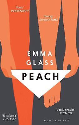 Peach by Emma Glass Paperback Book Free Shipping!