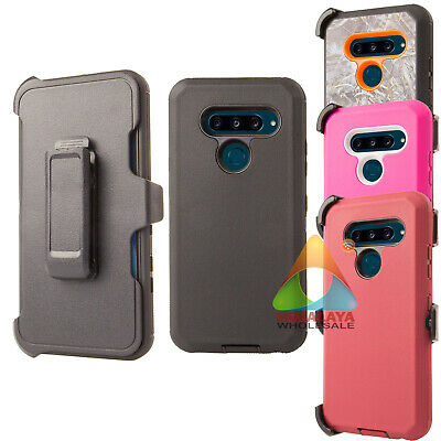 the latest 575d5 22300 FOR LG V40 ThinQ Case (Clip fits Otterbox Defender) B01 Holster Skin Cover