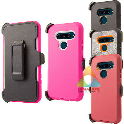 size 40 025ed 69212 FOR LG V40 ThinQ Case (Clip fits Otterbox Defender) B03 Holster Skin Cover