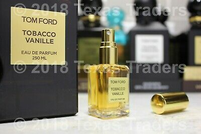641661fc68d10 TOM FORD TOBACCO VANILLE 15mL Travel Size Spray Atomizer Sample Perfume