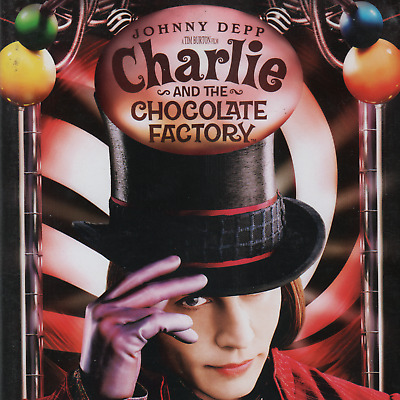 Charlie and the Chocolate Factory (DVD, 2005, 2-Disc Set, Widescreen)