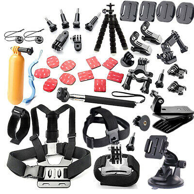 44in1 Action Camera Accessories Kit for GoPro Hero5/4/3/2/1 Xiaomi Yi/Yi 4k M2W9