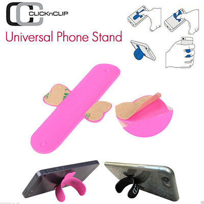 For  Apple & Samsung Silicone U-Touch Universal Phone Rest Holder Stand Mount