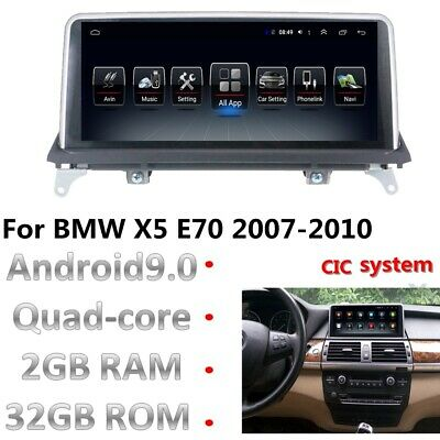 """10.25"""" Android 8.1 Car Stereo Radio Player for BMW X5 E70 X6 E71 Navigation GPS"""