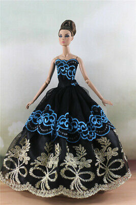 Fashion Princess Party Dress/Evening Clothes/Gown For 11.5 inch Doll a16