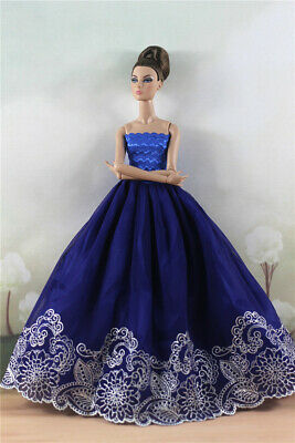 Fashion Princess Party Dress/Evening Clothes/Gown For 11.5 inch Doll a18