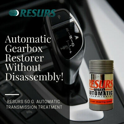 AUTOMATIC TRANSMIS OIL ADDITIVE RESURS AUTOMATIC 50 g.  FAST RESTORE AND PROTECT