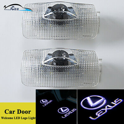 LED Door Courtesy Ghost Shadow Logo Lights for Lexus ES IS LS LX RX SC GS GX HS