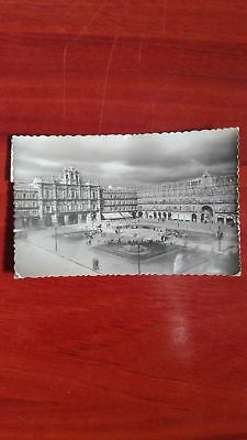 Postal antigua Salamanca Plaza Mayor