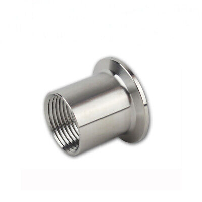 SS304 Sanitary Quick Install Female Threaded Ferrule Quick Connector Tri Clamp