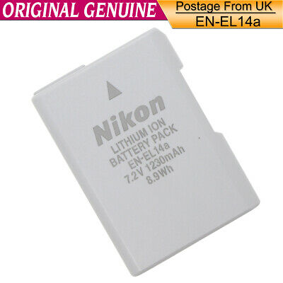 Genuine Original Nikon EN-EL14a Battery for MH-24 D3300 D5200 D5100 D7700 P7000
