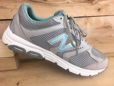 12e14305566 NEW BALANCE WOMENS Gray Teal Tech Ride 460 Running Shoes Size 9.5 Wide US  41 EUR -  32.89