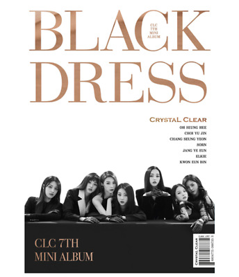 "K-POP CLC 7th Mini Album ""BLACK DRESS"" Official - 1 Photobook + 1 CD"