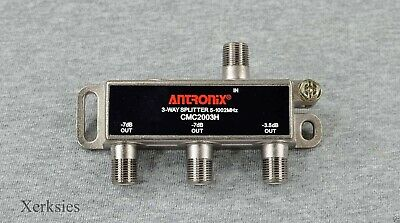 Antronix 3-way High Performance Coaxial Splitter Signal CMC2003H Cable TV HD