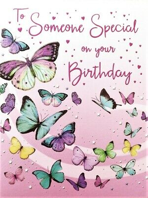 Someone Special Female Birthday Card