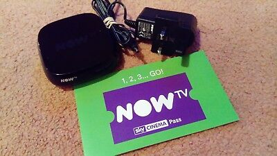 NOW TV BOX HD streamer - Newest 4201sk model + 1 Month Sky Cinema Pass Smart TV