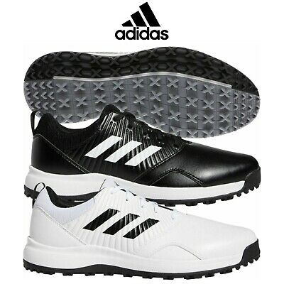 Adidas 2019 Cp Traxion Sl Spikeless Waterproof Leather Wide Fit Golf Shoes