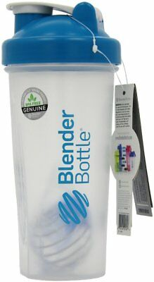 Blender Bottle Classic 28 oz. Shaker Protein Mixer with Wire Whisk - NEW