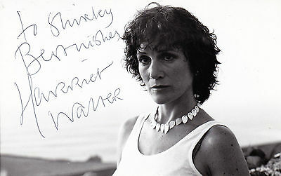 Harriet Walter Early Hand Signed Dedicated Promo Photograph 55 X