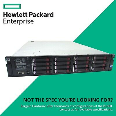 HP DL380 G6 16-Bay, 2x Six Core Xeon 48GB RAM P410 FBWC ProLiant 2U Rack Server