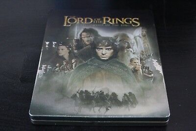 Lord of the Rings - Fellowship of the Ring - Blu Ray/DVD - Metal Case