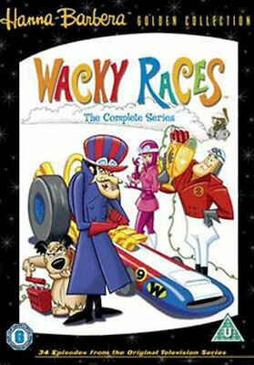 Wacky Races - The Complete Series Dvd [Uk] New Dvd