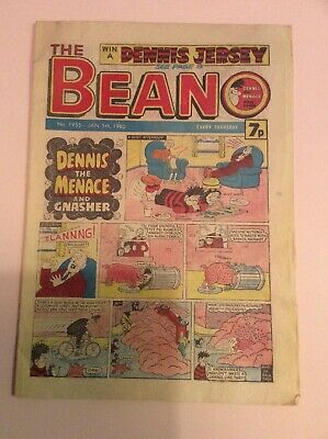 Beano Comic 1955 January 5th 1980