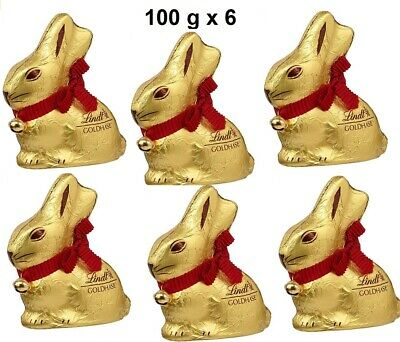 Lindt Goldhase 100 g x 6