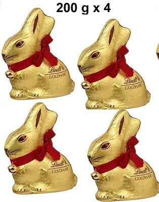 Lindt Goldhase 200 g x 4