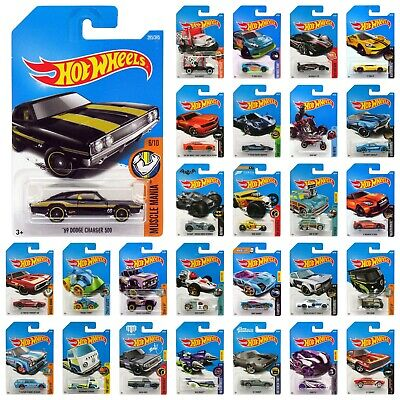 Hot Wheels 1:64 Scale Diecast Basic Car Asst 2017 (Choose from 50+ styles) C4982