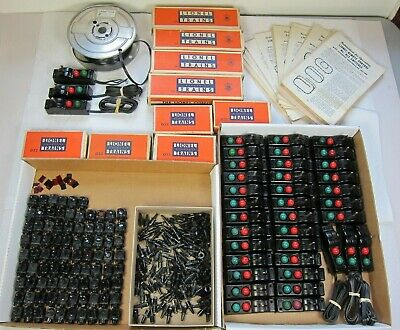 Lionel Large Lot 022 Switch Controllers-Lanterns-Wire-Fixed Plugs-Free Shipping!