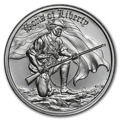 2 oz Silver High Relief Round - Sons of Liberty, Liberty Tree - SKU#186013
