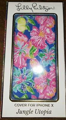 brand new 48180 afe9b LILLY PULITZER IPHONE X Case Jungle Utopia or Gypset Paradise vivid colors  ~NIB!