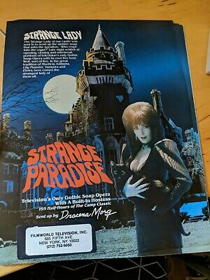 Strange Paradise TV Show Sell Sheets (Set of 2)