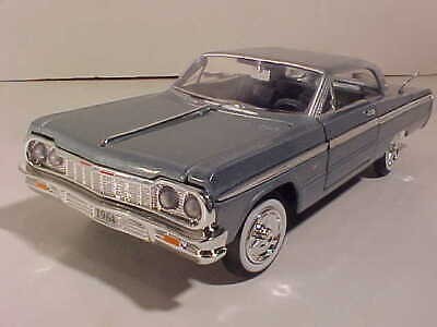 1964 Chevy Impala Coupe Hard Top Die-cast Car 1:24 by Motormax 8 inch Black